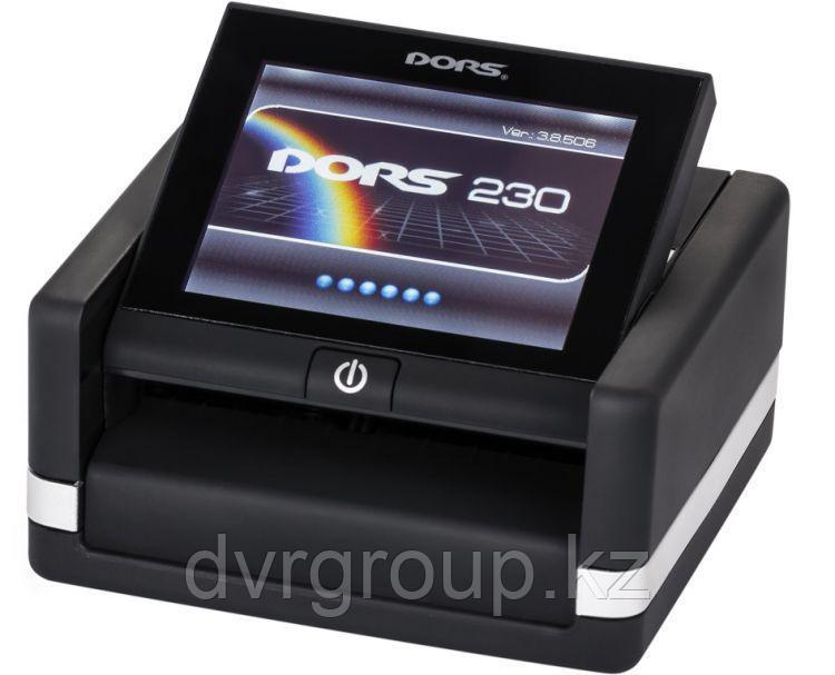 Детектор банкнот DORS 230, автоматический (с аккумулятором)