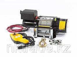 Лебедка автомобильная электрическая LB- 2000, 2,2 т, 3,2 кВт, 12 В DENZEL