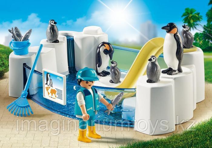 Конструктор «Бассейн для пингвинов» PLAYMOBIL - фото 2