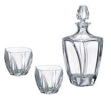 Набор для виски 7 предметов NEPTUN богемское стекло, Чехия 99999/9/99S39/087. Алматы