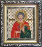 Набор для вышивки бисером Чарівна Мить Б-1077 Икона святой мученик Евгений