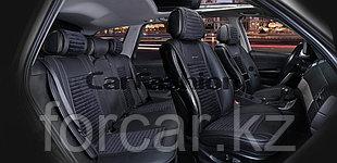 Комплект Накидок «MADRID PLUS» черный/т.серый/серый/серый