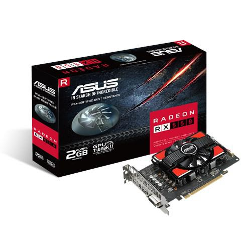 Видеокарта Asus RX550-2G