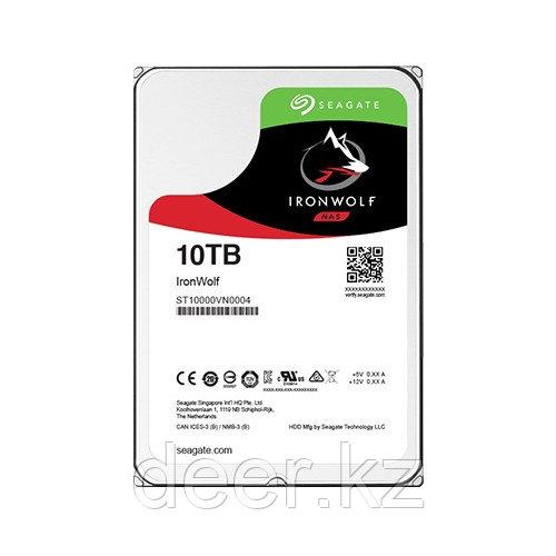 Жесткий диск HDD 10Tb Seagate IronWolf ST10000VN0004
