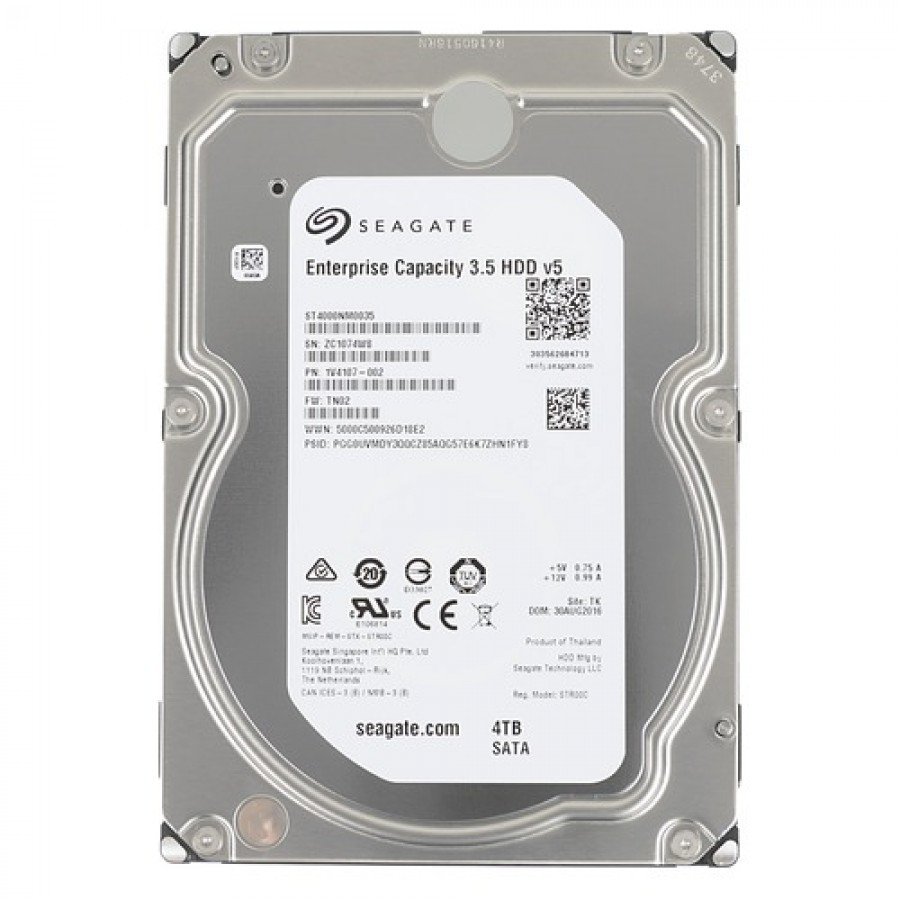 Жесткий диск HDD 4TB Seagate Exos 7E8 HDD ST4000NM0025