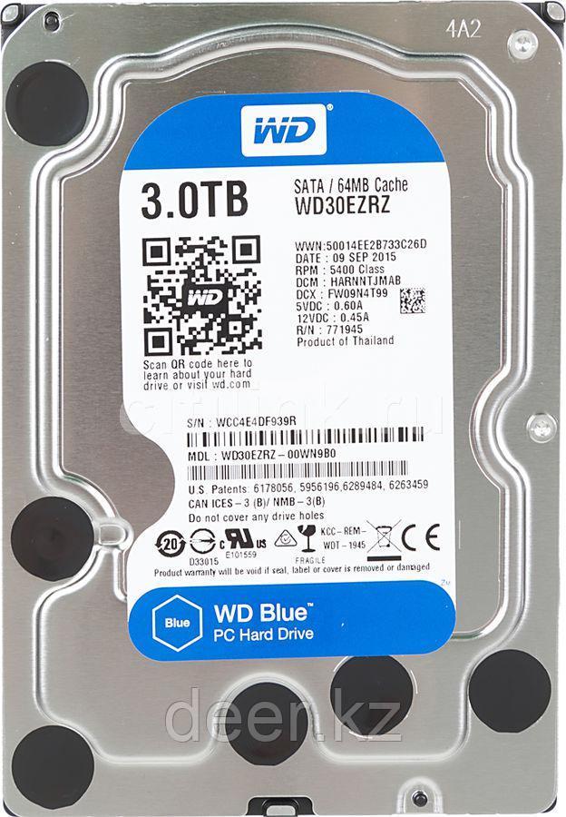 Жёсткий диск WD Blue™ WD30EZRZ 3ТБ