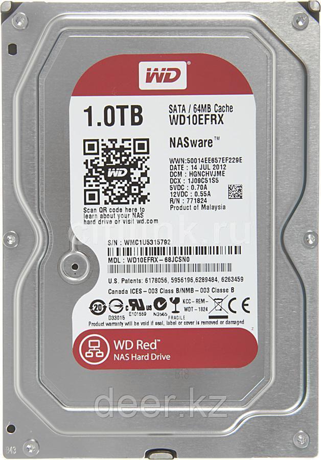 Жёсткий диск WD Red™ WD10EFRX 1ТБ