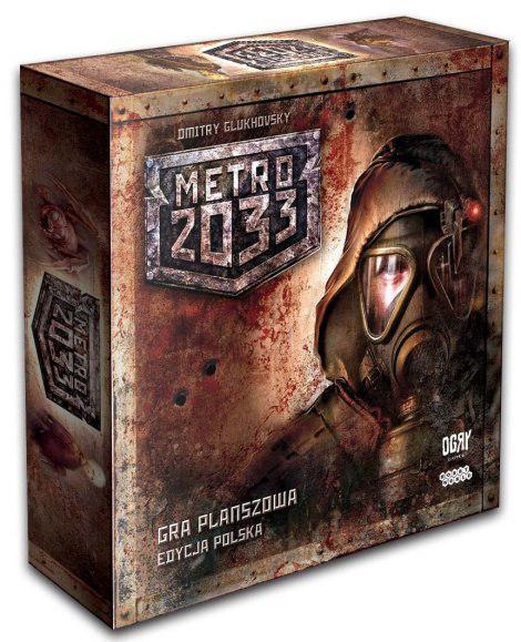 Настольная игра: МЕТРО 2033 (2-е рус. изд.)