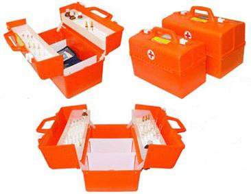Укладка врача скорой помощи пластиковая серии  УМСП без вложений
