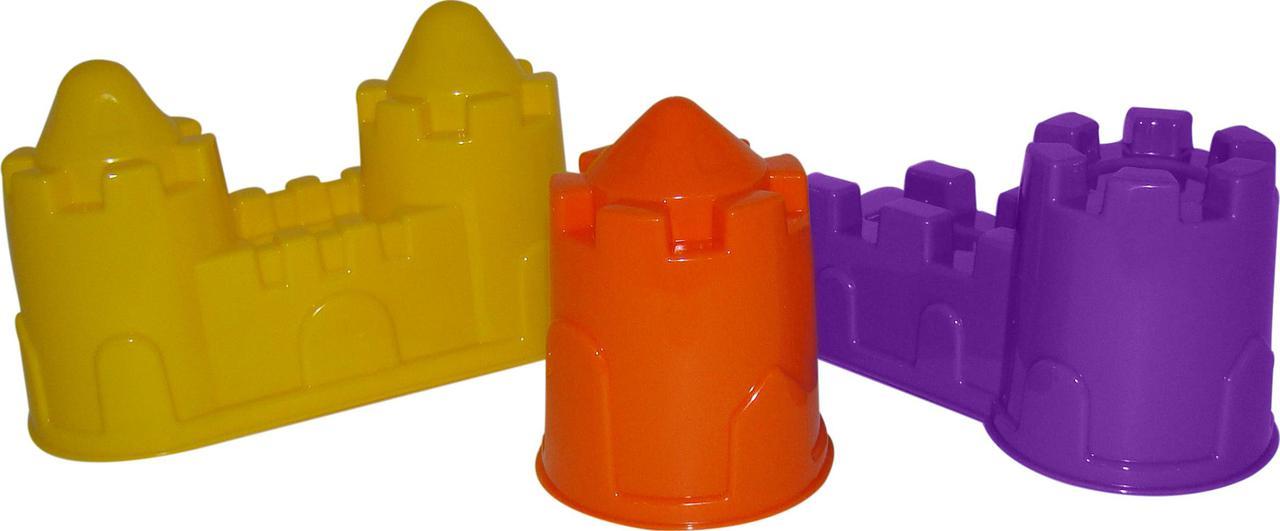 Формочки: замок башня + замок стена с двумя башнями + замок мост 37251