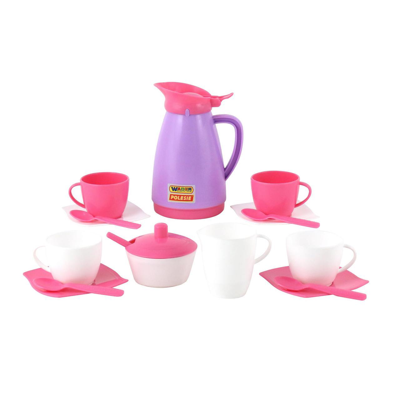 "Набор детской посуды ""Алиса"" на 4 персоны Pretty Pink 40626"