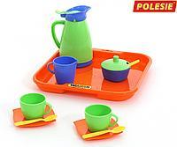 """Набор детской посуды """"Алиса"""" с подносом на 2 персоны 40572"""