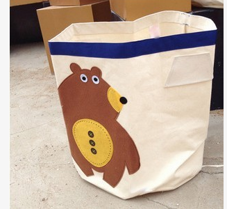 Корзина для игрушек медведь