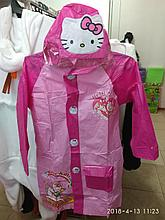 "Детский дождевик с капюшоном и карманами ""Hello Kitty"""