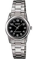 Женские наручные часы Casio LTP-V001D-1B, фото 1