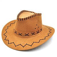 Ковбойская шляпа (рыжая)
