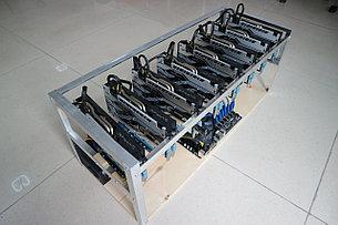 Майнинг ферма на 8 x Sapphire Nitro+ RX 580 4 GB, фото 2