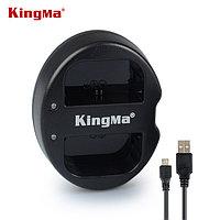 LP-E6. Двойное зарядное устройство KingMa для Canon