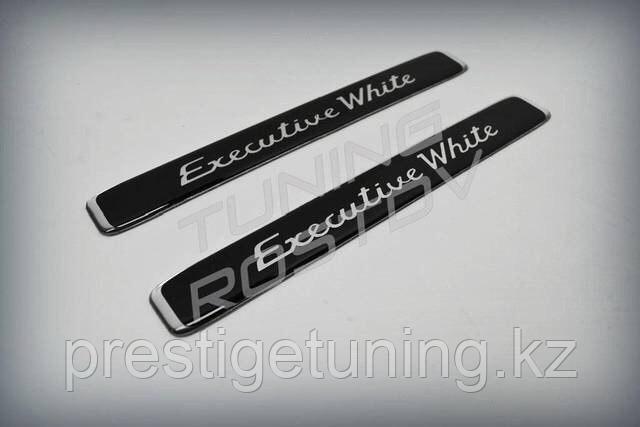 Эмблема(шильдик) Executive White Land cruiser 200