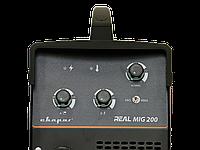 """Инвертор сварочный MIG 200 """"REAL"""" (N24002) Black , фото 4"""