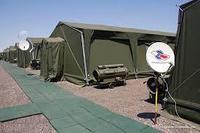 Палатка армейская до 8 чел.брезентовая 3х4м.