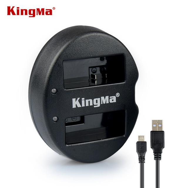 LP-E8. Двойное зарядное устройство KingMa для Canon
