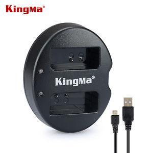 LP-E10. Двойное зарядное устройство KingMa для Canon