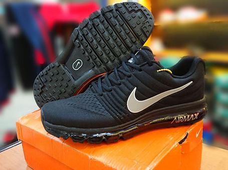 Кроссовки Nike Air Max 2017 черные, фото 2