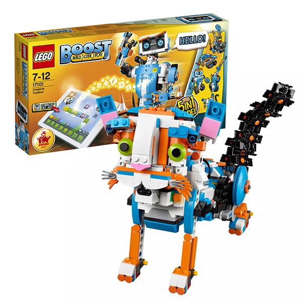 Lego BOOST 17101 Конструктор Лего Набор для конструирования и программирования - фото 1