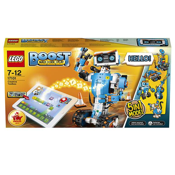 Lego BOOST 17101 Конструктор Лего Набор для конструирования и программирования - фото 8