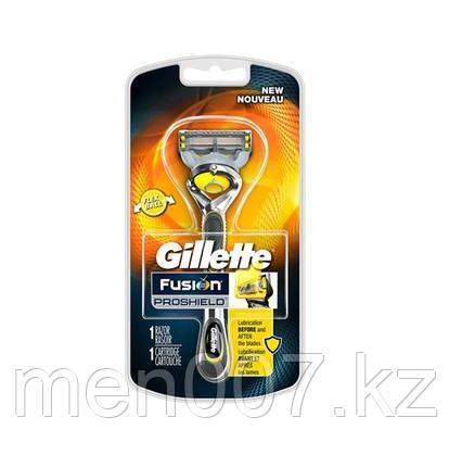 Gillette Fusion ProShield с двумя запасными картриджами