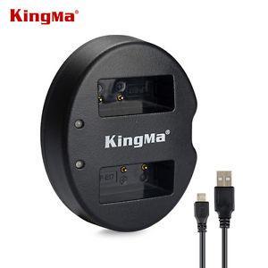 LP-E17. Двойное зарядное устройство KingMa для Canon