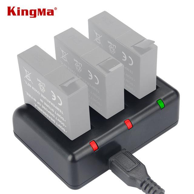 YI 4K. Зарядное устройство KingMa для Xiaomi YI 4K