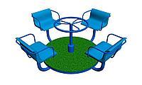 Карусель (4 сидения) К-001