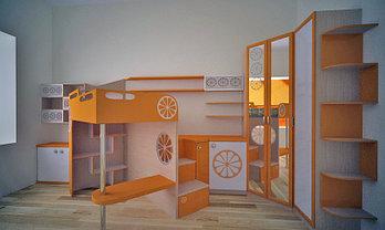Детские комнаты для мальчиков в Алматы и Нур-Султан , фото 3