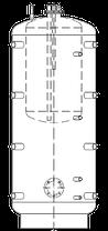 Бак ВТА/Н-2 400/185 л