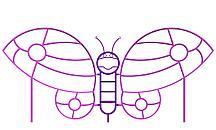 Лазалка «Бабочка» Л-002