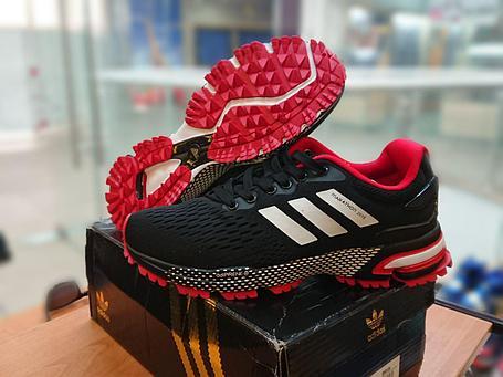 """Кроссовки Adidas Marathon TR 2018 """"Black\Red"""", фото 2"""