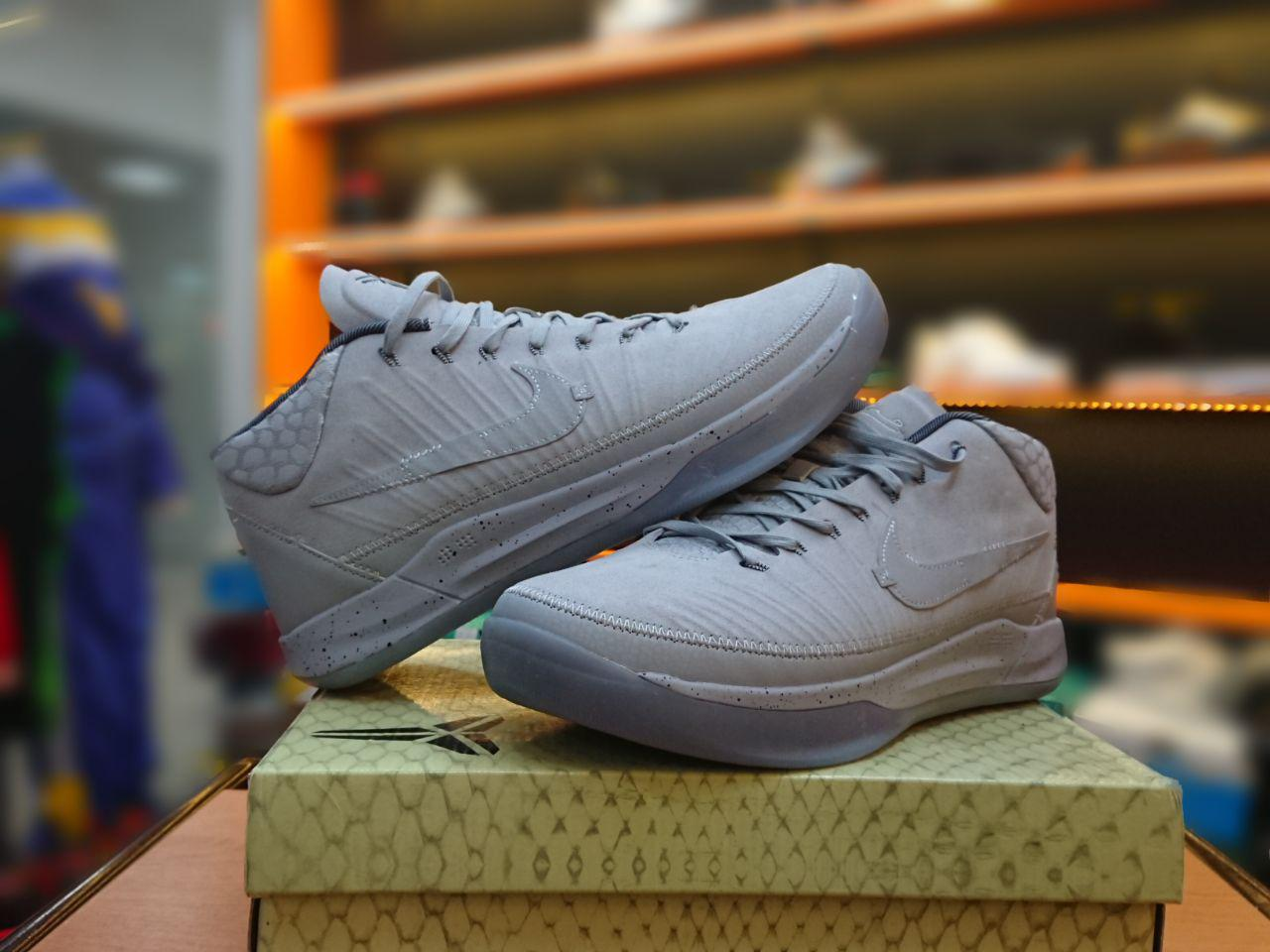 """Баскетбольные кроссовки Nike Kobe XIII 13  A.D. """"Gray"""""""