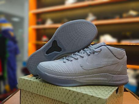 """Баскетбольные кроссовки Nike Kobe XIII 13  A.D. """"Gray"""", фото 2"""