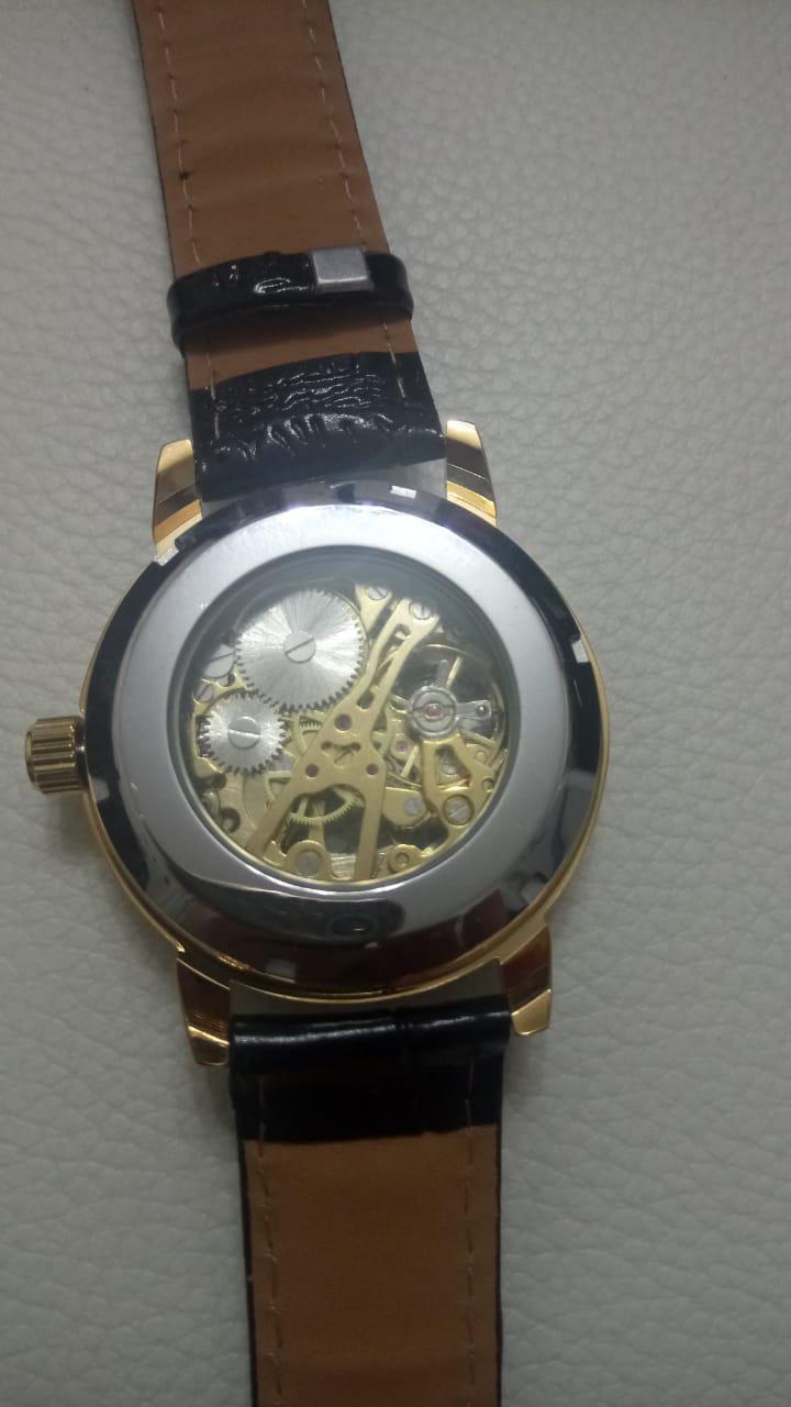 Часы механические Скелет