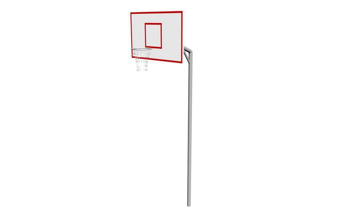 Стойка баскетбольная со щитом СБ - 001