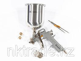 Краскораспылитель пневмат. с верхним бачком V=1,0 л + сопла диаметром 1.2, 1.5 и 1.8 мм MATRIX