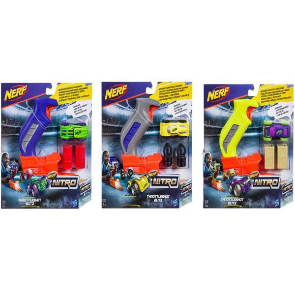 Hasbro Nerf Nitro Пусковое Устройство (Throttle Shot Blitz)