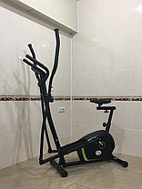 Эллиптический тренажер с сидением Fit Power до 100 кг, фото 2