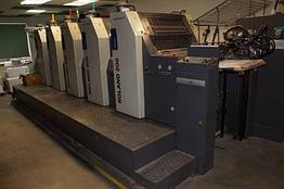 MAN Roland R 205 EOB б/у 2009г - 5-красочная печатная машина