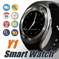 Часы телефон Y1 smart watch, фото 1