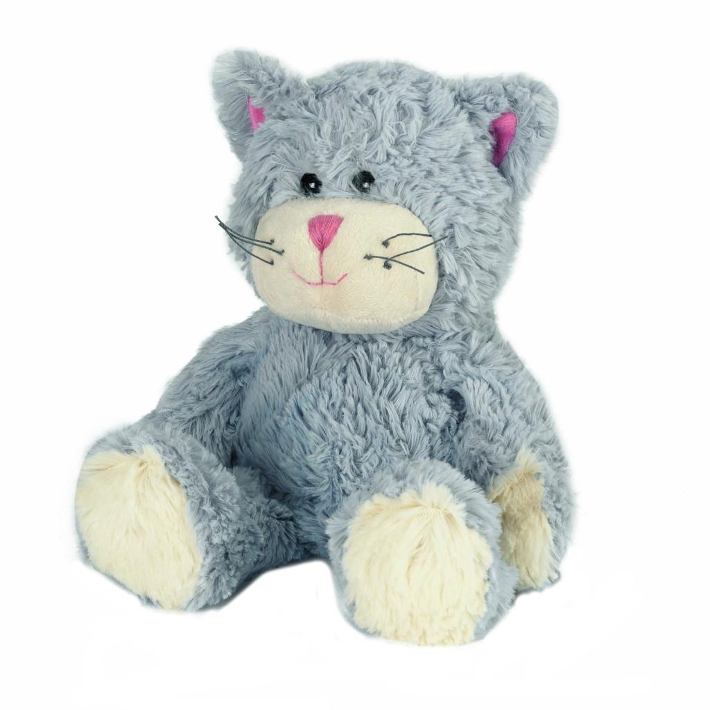 Warmies Мягкая игрушка - грелка Кот синий
