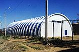 Строительство под ключ быстровозводимых арочных ангаров, складов, зданий и сооружений из ЛМК, фото 3