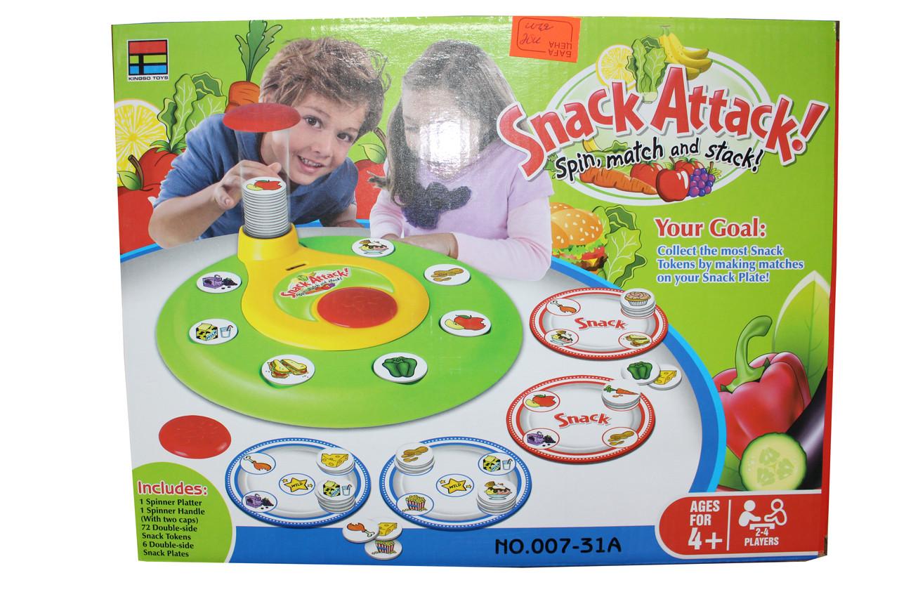 Настольная Игра Snack Attack 007-31А